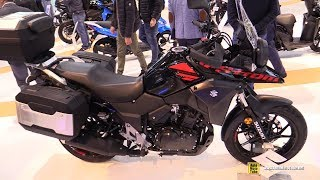 2018 Suzuki V-Strom 250 ABS - Walkaround - 2017 EICMA Milan Motorcycle Exhibition