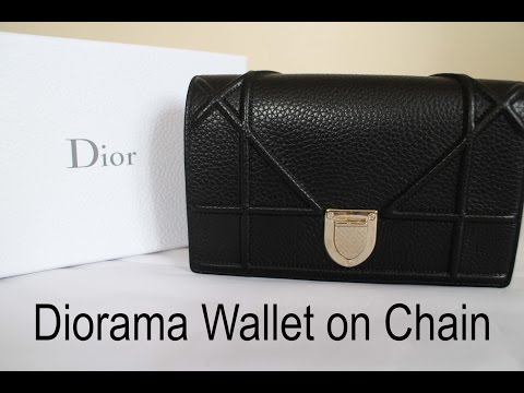 Dior Diorama Wallet on Chain | Unboxing and Reveal
