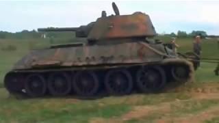 В болоте нашли Т34 СПУСТЯ 70 лет после войны