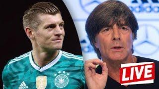 DFB-PK vor Frankreich-Hammer mit Jogi Löw und Toni Kroos | Nations League | ReLive