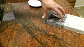 What is Sealer for Granite, Marble, Quartzite and Travertine Countertops?