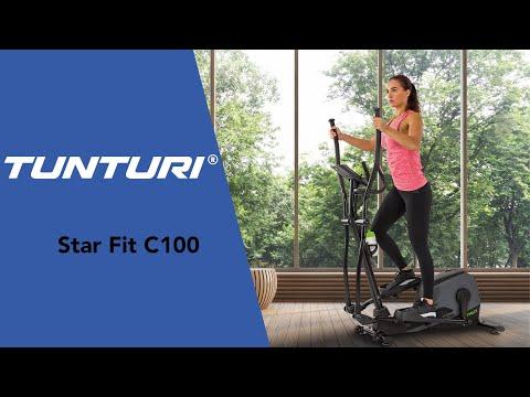 Promovideo: Eliptický trenažér TUNTURI StarFit C100