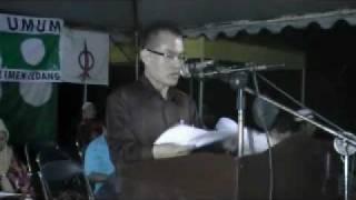 preview picture of video 'Ceramah di Kampung Seri Makmur Ledang (bhg 1)'