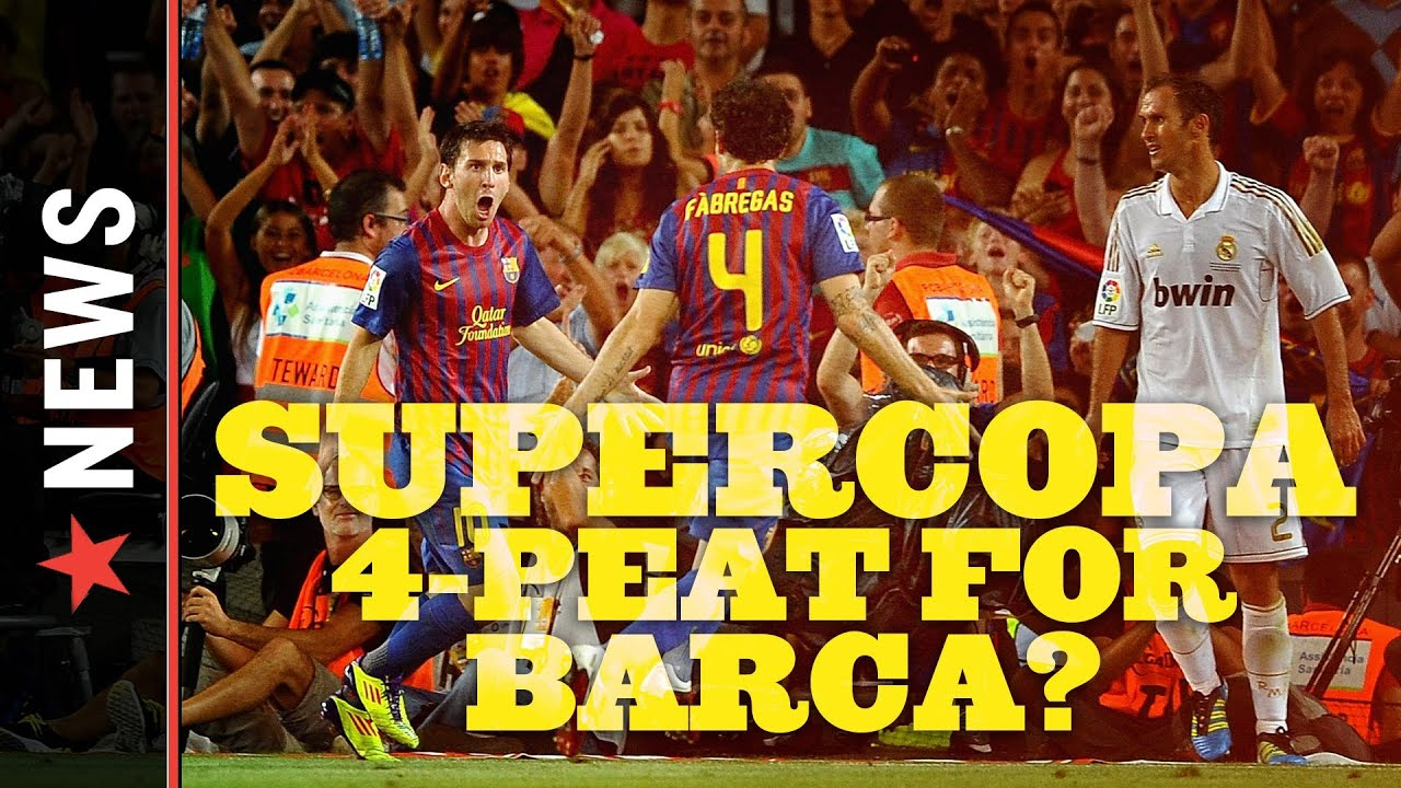 Real Madrid vs. Barcelona, 2012 Supercopa: Barca Takes One Goal Lead Over Rivals into Leg 2 thumbnail