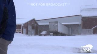 preview picture of video '1-10-15  Watertown, New York Lake Effect Snow Event'