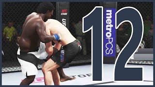 UFC 2 Career Mode Ep.12 - THE FIGHT OF OUR LIFE!!  | UFC 2 Gameplay