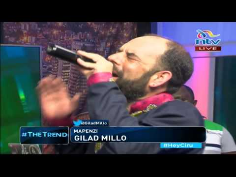 Gilad Millo drops new song 'Mapenzi' on #theTrend