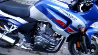 preview picture of video 'My brand new Zongshen 200GS'