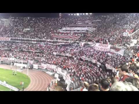 """""""Recibimiento River vs. Chapecoense"""" Barra: Los Borrachos del Tablón • Club: River Plate"""