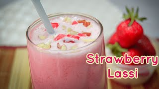 ഒരു കിടിലൻ സ്ട്രോബറി ലസ്സി 👌😋/ Strawberry Lassi Recipe