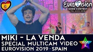 "Miki - ""La Venda"" - Special Multicam Video - Eurovision 2019 (Spain)"