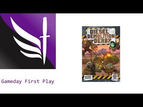 Gameday First Play - Diesel Demolition Derby