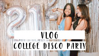 HOW TO DECORATE FOR A DISCO PARTY
