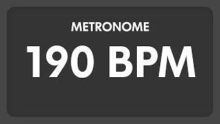 190 BPM   Metronome