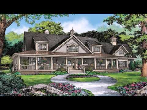 One Story Ranch Style House Plans With Wrap Around Porch