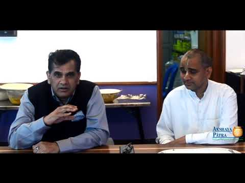 CEO of NITI Aayog, Amitabh Kant visited Akshaya Patra Hubbal