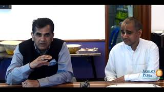 CEO of NITI Aayog, Amitabh Kant visited Akshaya Patra Hubballi Kitchen