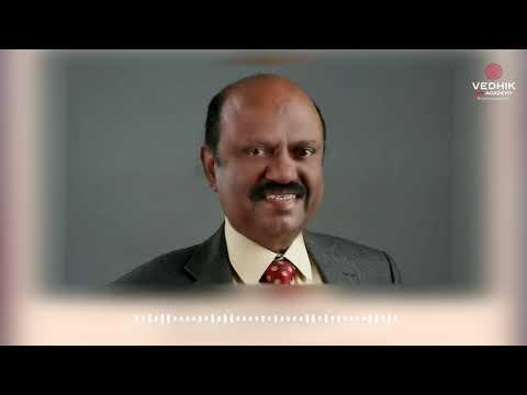Dr C V Ananda Bose IAS about Vedhik IAS Academy