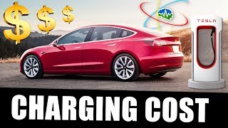 How Much Does it Cost to Charge a Model 3?
