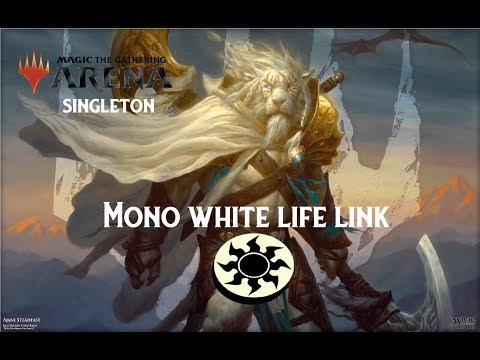 MTG Arena] Mono White Lifelink | Guilds Of Ravnica Deck Guide And