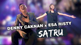 DENNY CAKNAN Ft. ESA RISTY - SATRU - LIVE IN LAMONGAN (OFFICIAL LIVE MUSIC)