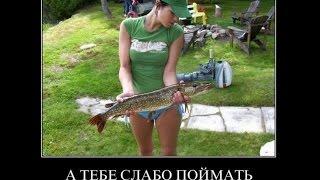 Демотиватор лучше бы ты на рыбалке