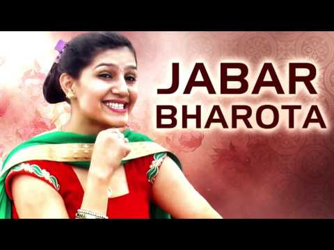 New Haryanvi Song - Jabar Bharota - Sapna Choudhary Dance 2016 - Haryanvi Dj Songs Full Audio