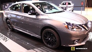 2017 Nissan Sentra Midnight Edition - Exterior and Interior Walkaround - 2017 Chicago Auto Show