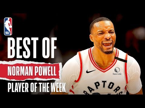 Norman Powell | Eastern Conference Player Of The Week