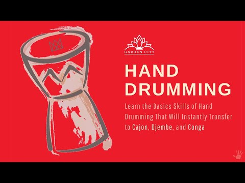 HandDrumming. A 6-Month and $400 Value Video Series, only $50.