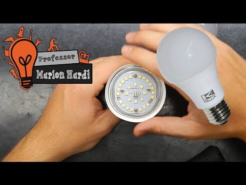 Lâmpada LED Queimada? Aprenda a Consertar de Forma Fácil! Economize!