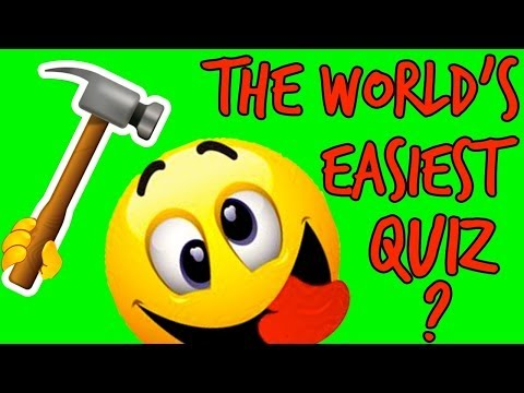 THE WORLD'S EASIEST QUIZ… ??? Tricky Questions! | Mister Test 🎶🎶🎶