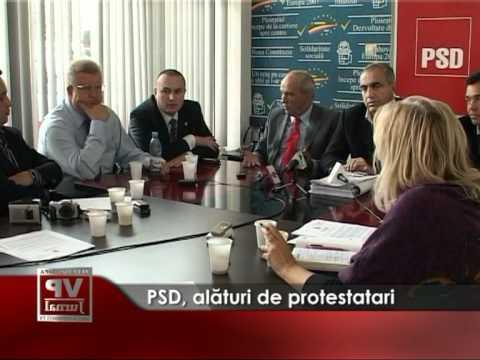 PSD, alaturi de protestatari