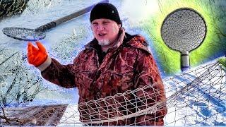 Черпак для зимней рыбалки своими рукам