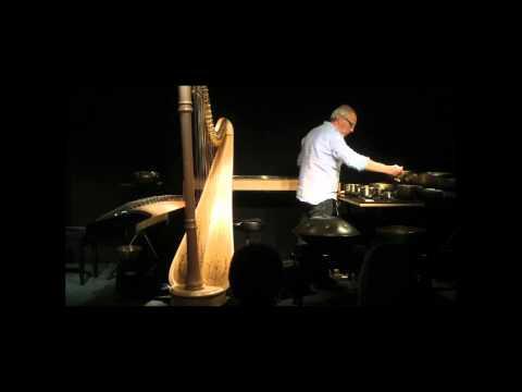 LUC VANLAERE plays harp, hang, guzheng, kotamo and singing bowls
