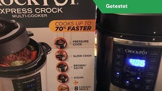 Crock Pot Express Multi-Cooker Produkttest