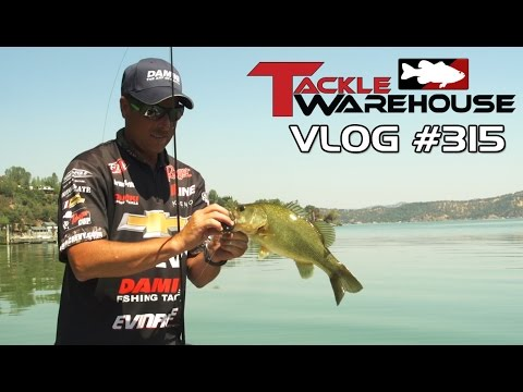 Fishing For Clear Lake Bass With Bryan Thrift Part 3 – Tackle Warehouse VLOG #315