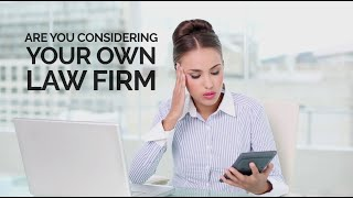 Free Webinar - How to Start Your Own Law Firm