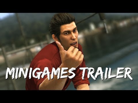 Yakuza 6 : The Song of Life : Take a Break with Yakuza 6: The Song of Life Minigames