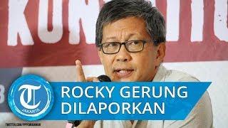 Laporkan Rocky Gerung Soal 'Jokowi Tak Paham Pancasila'