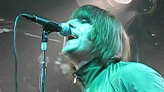 """""""Millionaire"""" Beady Eye (Ending) Close Up Liam Gallagher NYC Webster Hall"""