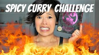 Spicy Japanese Curry CHALLENGE ft. TabiEats