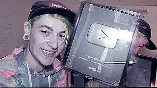 MAKING MY 100K YOUTUBE PLAQUE INTO A BONG!