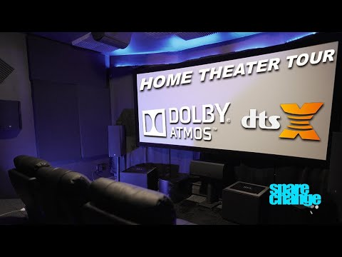 Home Theater Tour | 4K, 7.3.4 Dolby Atmos, DTS-X