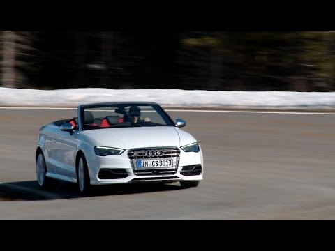 New Audi S3 Cabriolet compact convertible quattro test review - Autogefühl