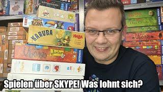 Spiele über Skype - Was lohnt sich? Was funktioniert? Spiele Tipps zum Lockdown - Corona