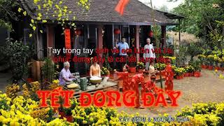 [ lyrics+ kara ] Tết Đong Đầy | Kay Trần & Nguyễn Khoa