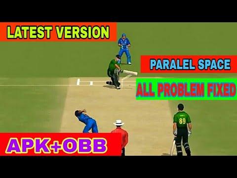 Real cricket 18 version 1 9 update apk+obb download link not