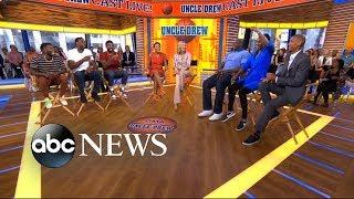 'Uncle Drew' cast takes over 'GMA' - dooclip.me