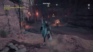 Assassin's Creed - Origins: High Level Nightmare Gameplay Max lvl (Lvl 45) The Hidden Ones